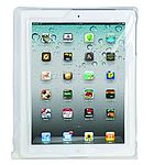 100% Waterproof case For the Apple i-Pad white