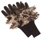 Hunter's Camo Leafy Net Gloves