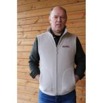 JAMA Sleeveless fleece vest