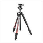 MANFROTTO - Kit de trípode de aluminio rojo Element MII
