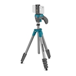 MANFROTTO - Kit Trépied Compact Action Smart, Rotule Joystick, Bleu