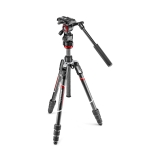 MANFROTTO - Video kit Befree live carbon black, rotary lock