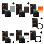 PACK - FILTRES STEALTH GEAR ( ND2 + ND4 + filtre coucher de soleil +  dégradé ND4 + dégradé ND8 + porte filtre + porte filtre Grand Angle )