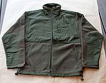 Fleece Jacket M. R / S Olive Patch