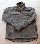 Fleece Jacket olive green thick
