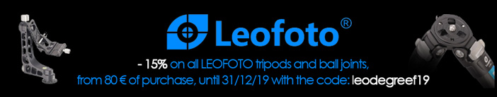-15% on all LEOFOTO tripods and ball joints